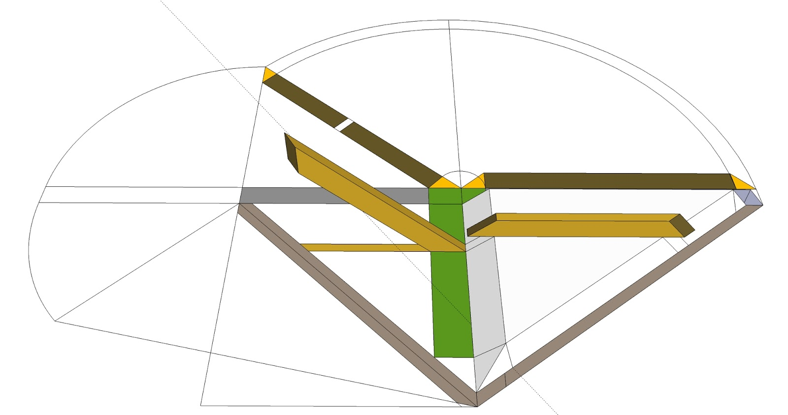 Roof Framing Geometry Traditional Layout Using The