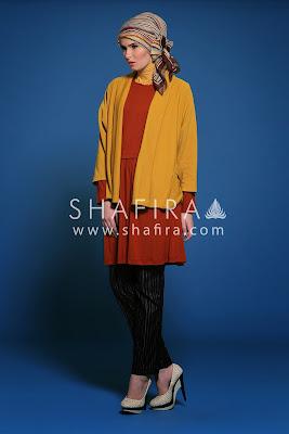 Model Atasan Baju Muslim Shafira Remaja Terbaru