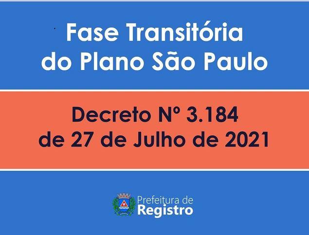 Registro-SP avança na Fase Transitória do Plano São Paulo