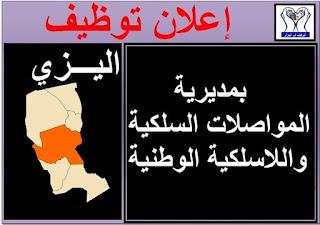 اعلانات توظيف بولاية اليزي
