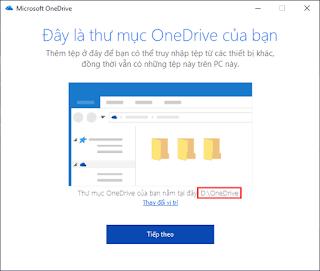 Cách di chuyển OneDrive sang một phân vùng khác của ổ đĩa