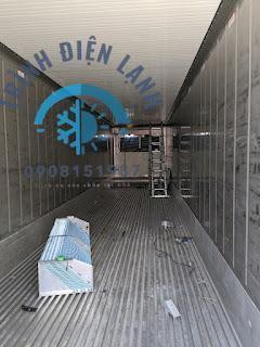 Sửa kho lạnh, trình điện lanh lắp đặt sửa chữa kho lanh