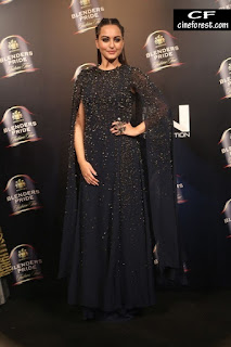 Sonakshi Sinha  black fashion photos