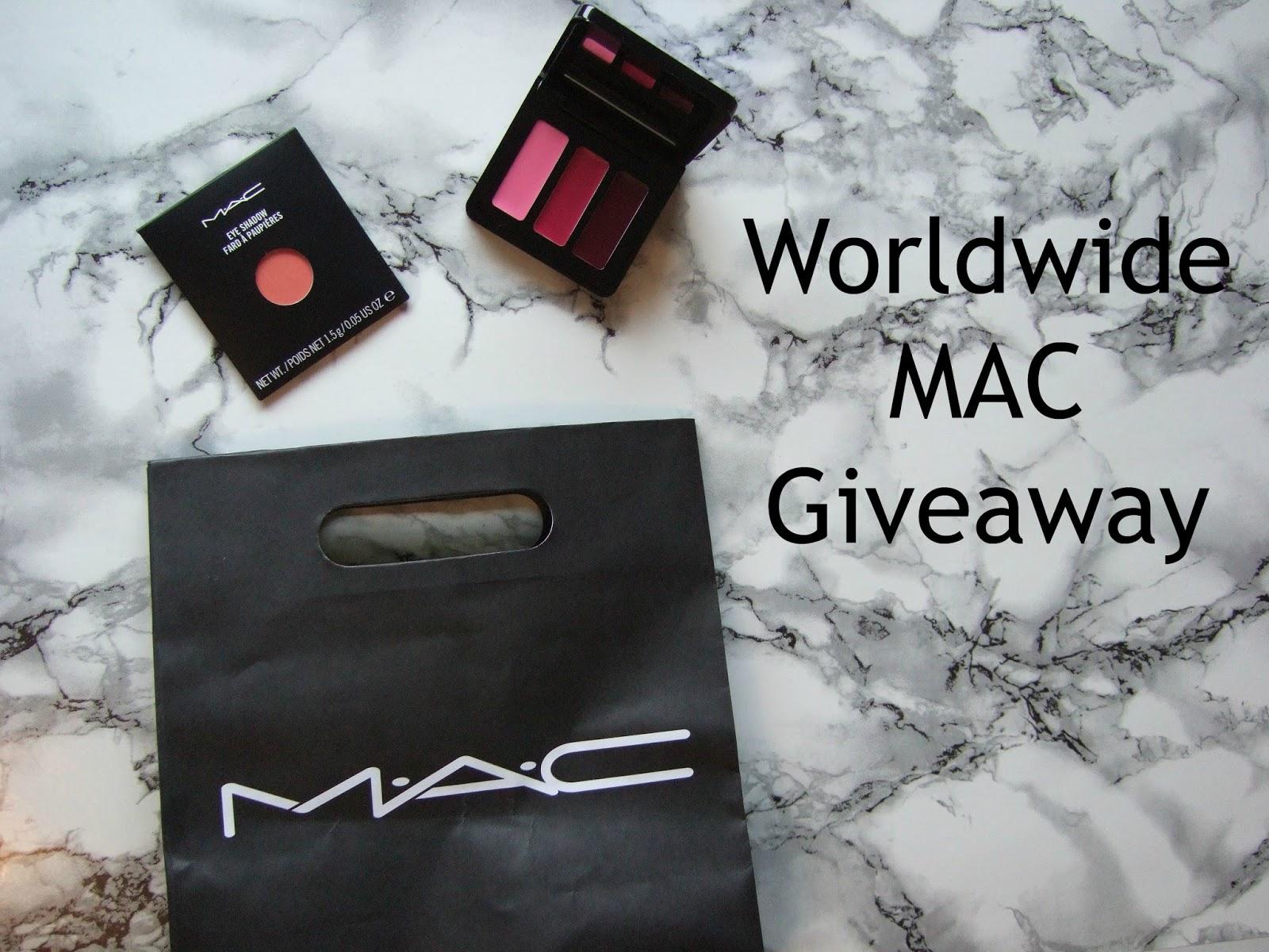 March MAC-ness: Worldwide MAC Giveaway #3
