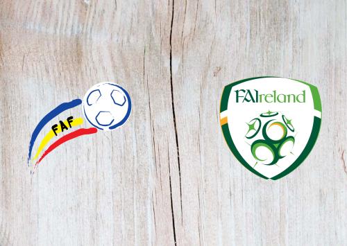 Andorra vs Republic of Ireland -Highlights 03 June 2021