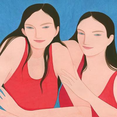 Kelly Beeman arte | dibujo en acuarela de mujeres deportistas