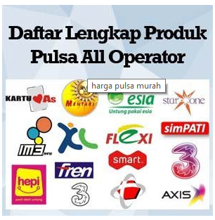 List Daftar Harga Pulsa DR ANDROID CENTER