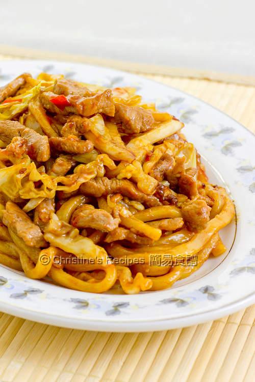 上海粗炒麵【自家秘方】Shanghai Fried Noodles