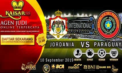 PREDIKSI BOLA TERPERCAYA JORDANIA VS PARAGUAY 10 SEPTEMBER 2019