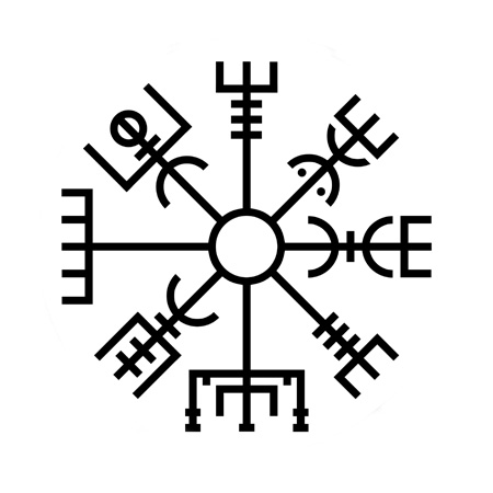 Real Rune Magick: The Vegvísir, or