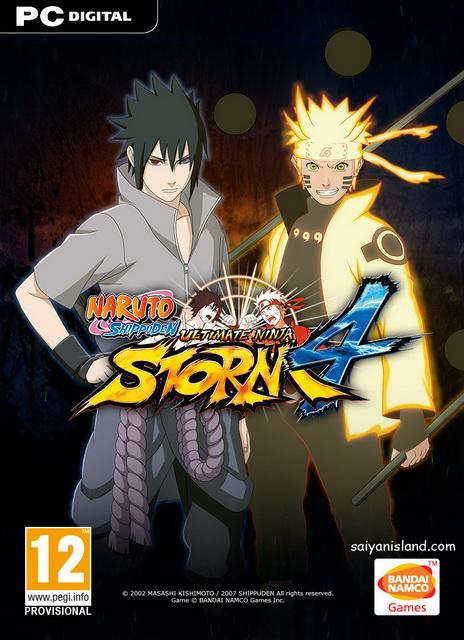 تحميل اللغة العربية للعبة naruto shippuden ultimate ninja storm 4
