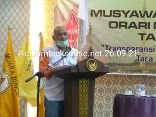 SAH, Doni Iskandar Pimpin ORARI Daerah Jambi Secara Aklamasi.