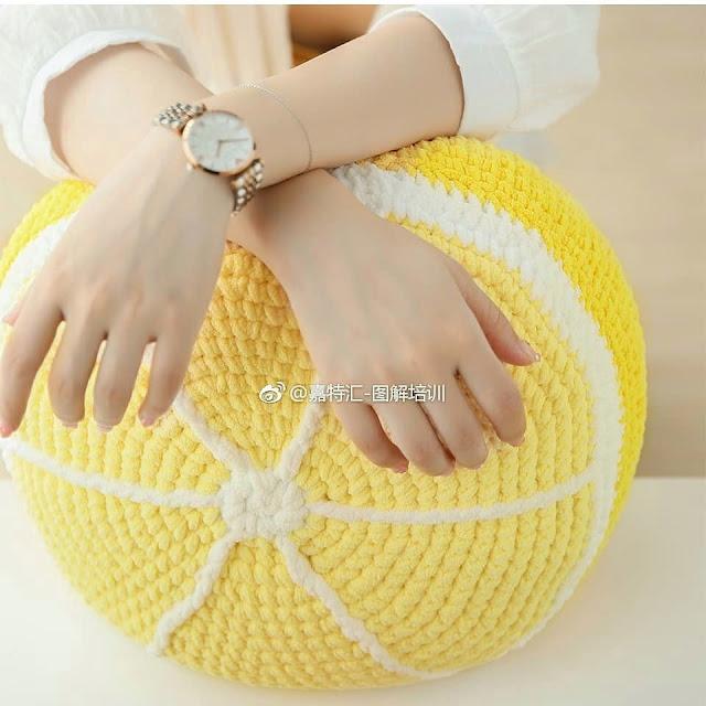 Almofada Limão
