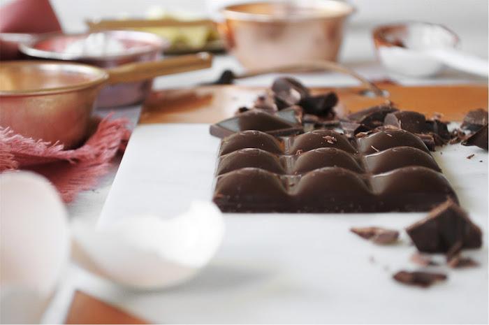 Chocolate Truffle Cake, 12-Layer Chocolate Cake, Twelve Layer Chocolate Cake, Chocolate Custard Cake, Chocolate Chip Cake, High Altitude Chocolate Cake