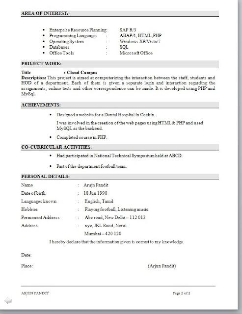 HuffPost Is Hiring A Trends Writer resume model for mba hr Tips for