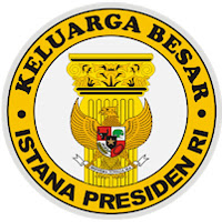 Souvenir Tatakan Gelas Rubber  Istana Kepresidenan Republik Indonesia