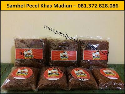 Supplier Sambel Pecel Madiun Di  Surabaya – 081.372.828.086