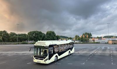 Volvo apresenta ônibus autônomo na Suécia