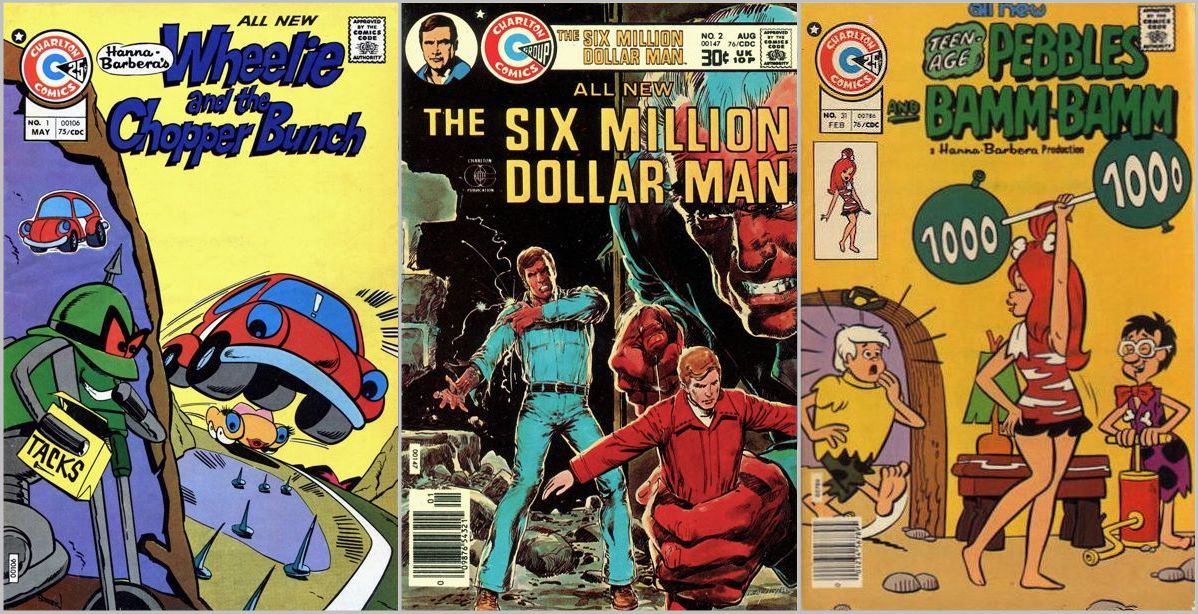 Wheelie and Chopper Bunch / Six-Million-Dollar Man / Teen-Age Pebbles and Bamm-Bamm