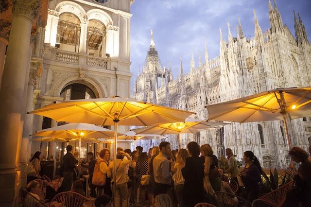 Terrazza Aperol em Milão na Itália