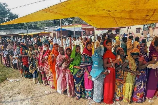 बिहार चुनाव 2020 LIVE अपडेट्स: 78 विधानसभाओं में मतदान शुरू, स्थानीय लोगों के रूप में मतदान के अंतिम चरण के लिए मतदान