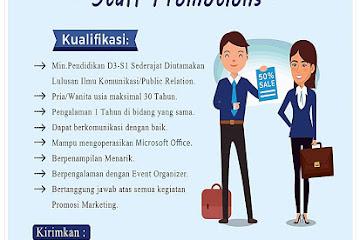 Lowongan Kerja Bandung Staff Promotions SPKN