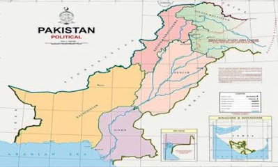 New Pakistani Map
