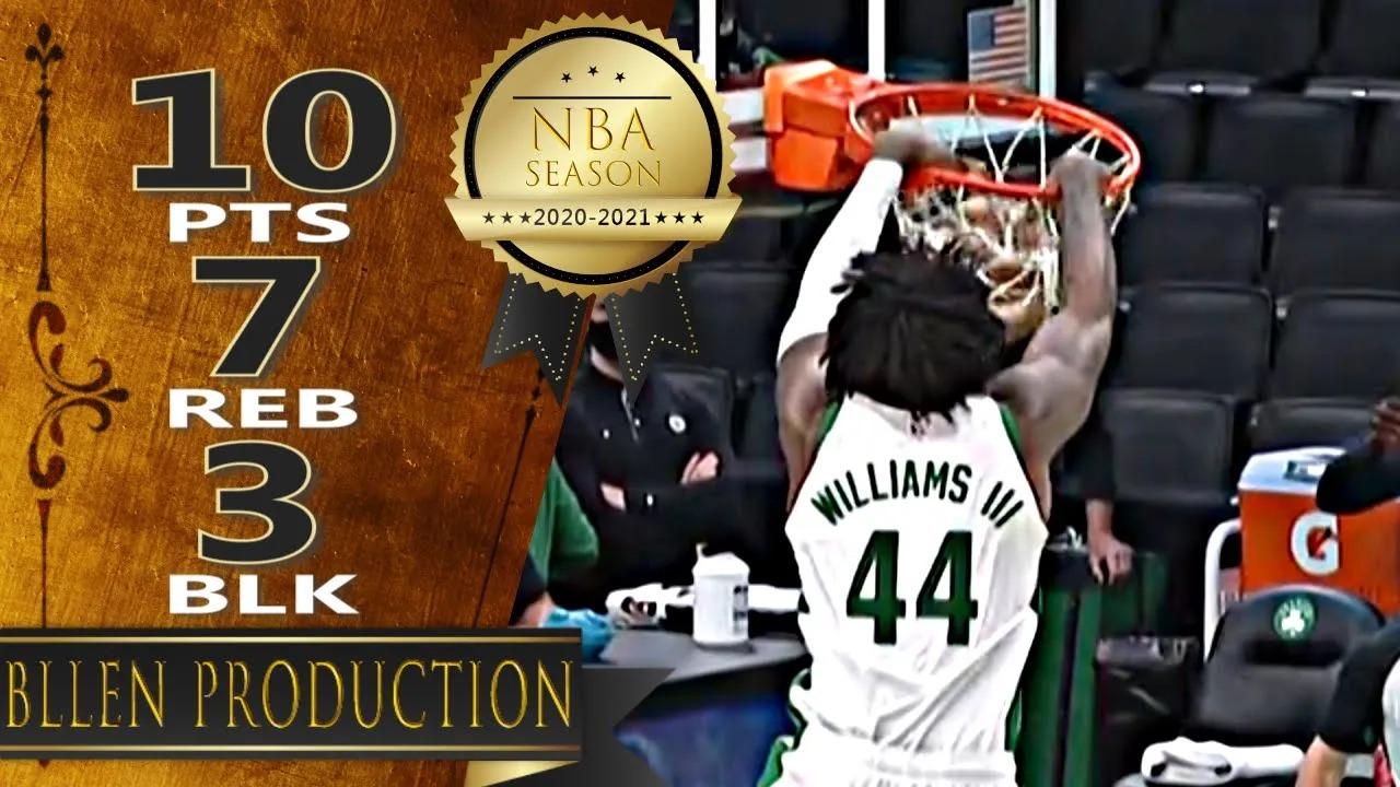 Robert Williams III 10pts 7reb vs TOR | March 4, 2021 | 2020-21 NBA Season