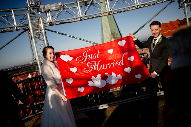 Wedding in Lüneburg Water Tower