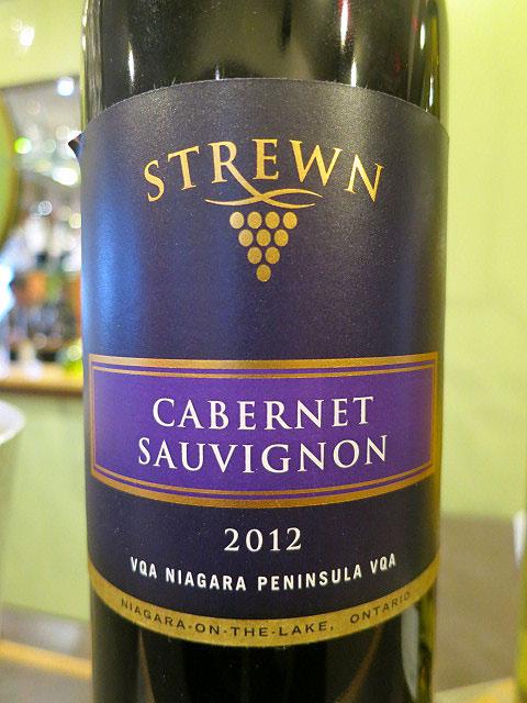 Strewn Cabernet Sauvignon 2012 (89 pts)