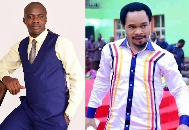 Drama As Calabar Based Pastor Describes Odumeje As A Mere Entertainer, Challenges Him To A Spiritual Battle