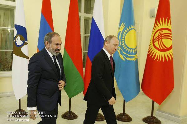 Putin visitará Ereván para sesión de OTSC