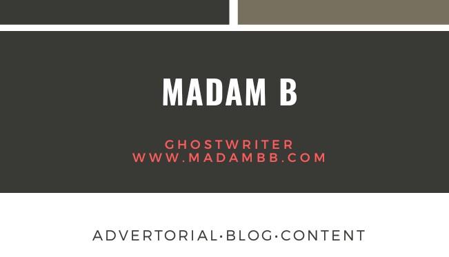 Madam B Tawarkan Servis Penulisan Advertorial, Blog Dan Content