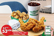 Promo Wingstop Paket Wings For Home Periode 28 Maret - 19 April 2020