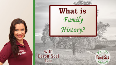 What is Family History Webinar