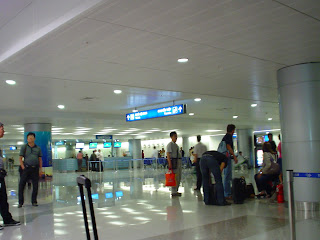 Aeropuerto de la Ciudad de Ho Chi Minh (Vietnam). Control de pasaporte
