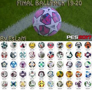 PES2017 [Final] Ball Pack Season 2019-2020 By EsLaM