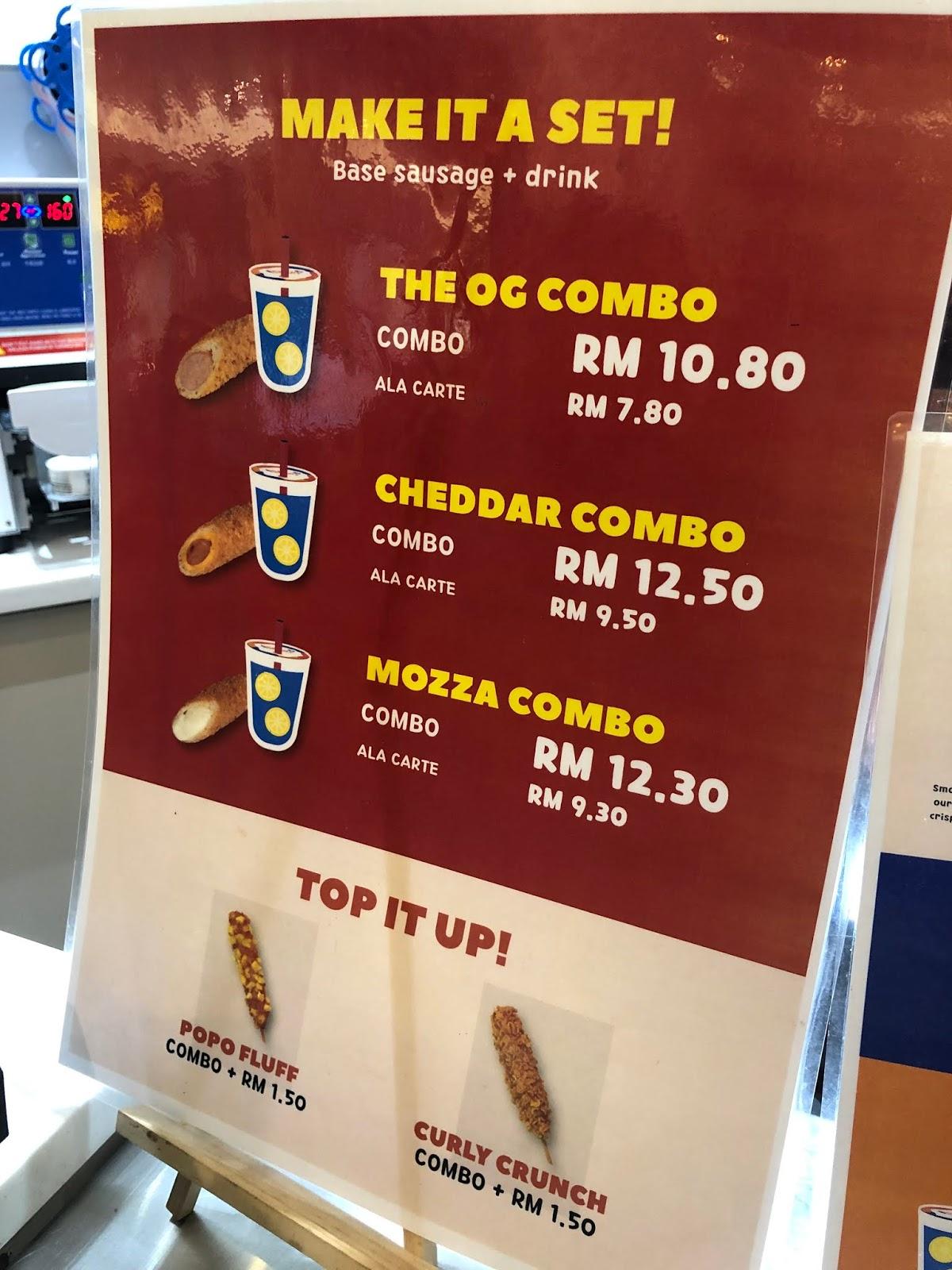 Sosej Keju Korea Viral - Chun di iOiCity Mall Putrajaya