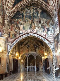Afrescos Medievais no Monastério de São Bento