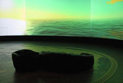 sala de experiência no museu dos Descobrimentos em Belmonte