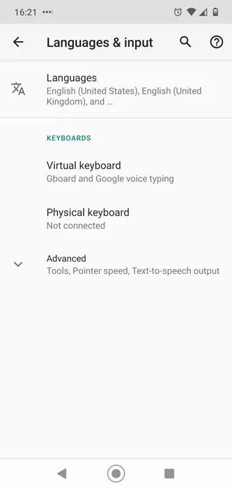مجموعات رموز تعبيرية Android لإدخال لغات Gboard