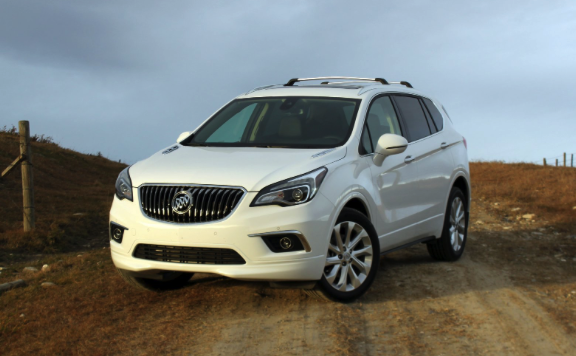 review 2018 buick envision car and driver review. Black Bedroom Furniture Sets. Home Design Ideas