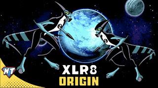 xlr8 origin in ben 10