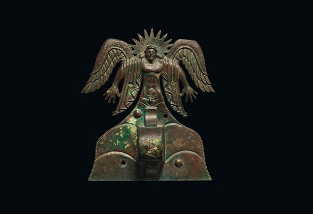 Getty Museum acquires Etruscan bronze appliqué of the Sun God Usil