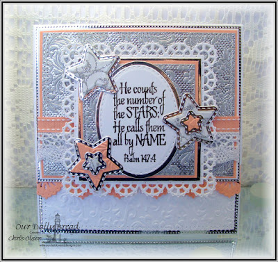 Our Daily Bread Designs, Superstar, Double Stitched Squares, Layered Lacey Squares, Beautiful Borders,  Sparkling Stars, Double Stitched Stars, Flourished Star Pattern, Ovals, Stitched Ovals, designed by Chris Olsen