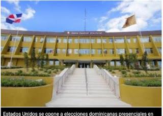 Estados Unidos se opone a elecciones dominicanas presenciales en su territorio por coronavirus