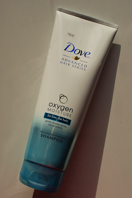 Dove, Advanced Hair Series, Oxygen & Moisture, Szampon do włosów