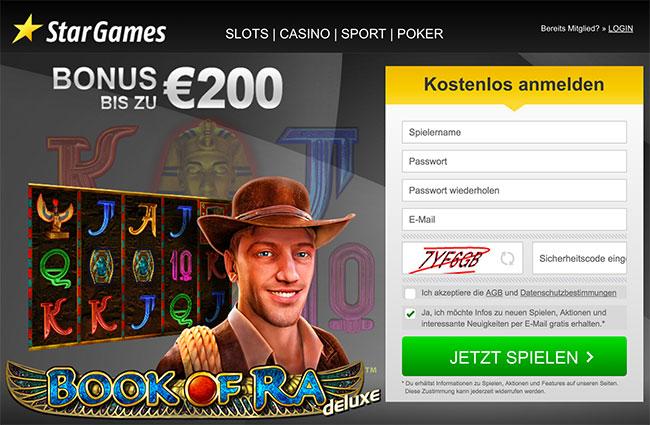 Stargames Bonus Code 200 Euro