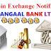 Onecoin exchange notification KANGAAL Bank LTD