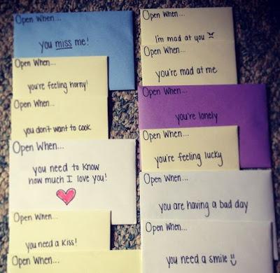 Love Letter Ideas